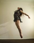 Dancer in flight