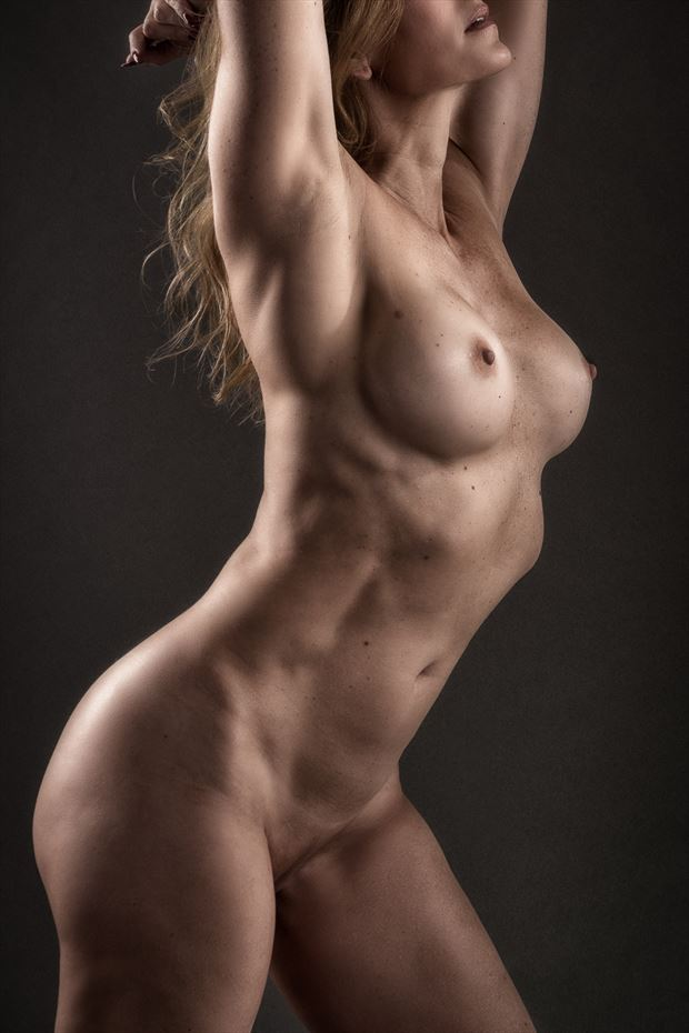 7th inning strech artistic nude photo by photographer rick jolson