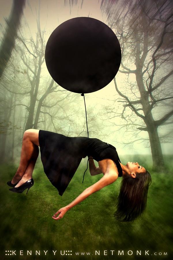 :::Balloon Flight::: Fantasy Photo by Photographer NetMonk