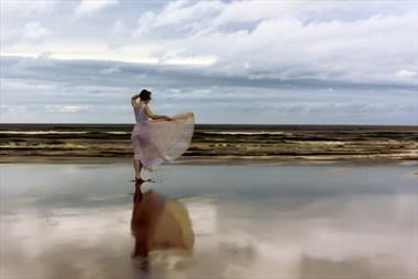 A Beach of Amber Nature Photo by Photographer Rascallyfox