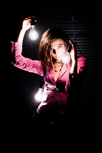 A Bright idea Studio Lighting Artwork by Photographer Mario Peralta Photography