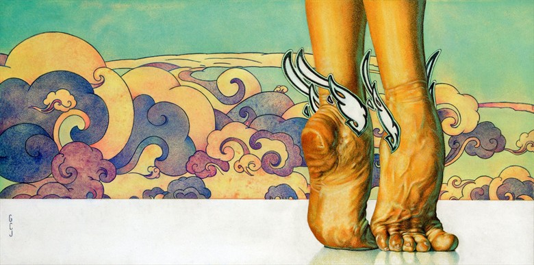 A Dancer's Feet Surreal Artwork by Artist jart64
