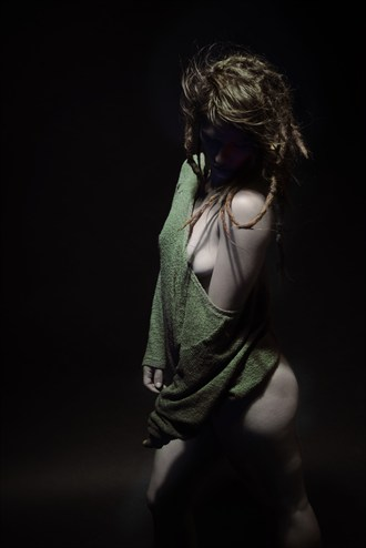 A Little of the Shoulder Artistic Nude Photo by Photographer Mark Bigelow
