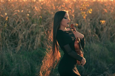 A Lovelorn Serenade Sensual Photo by Photographer ONE Photography