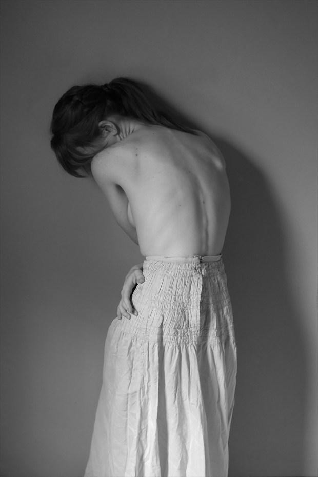 A Petticoat Artistic Nude Photo by Model Liv Sage