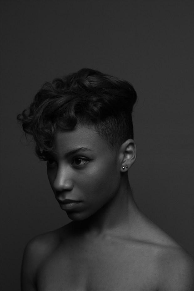 A Portrait Close Up Photo by Model AGNOSIA