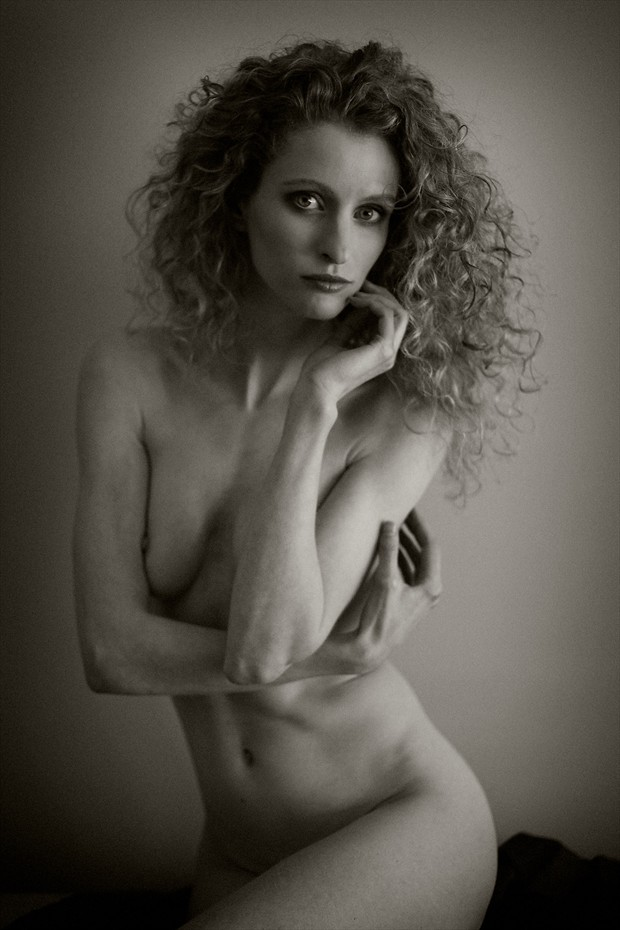 A Portrait of Frerdau Artistic Nude Photo by Artist Sol Lang