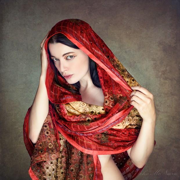 A Red Diaz Studio Lighting Photo by Photographer Rascallyfox