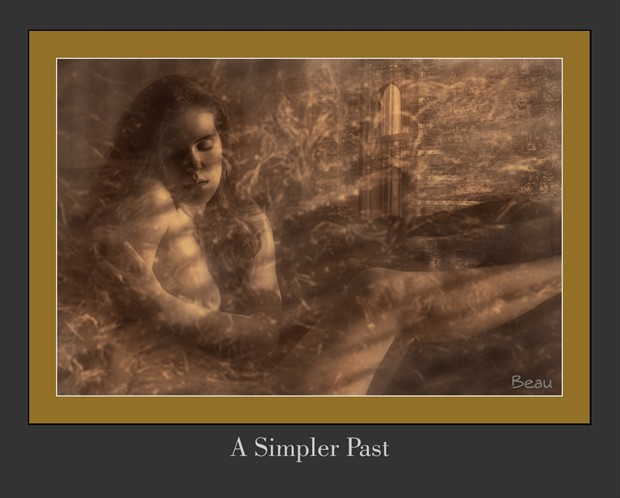 A Simpler Past Artistic Nude Artwork by Photographer Beau