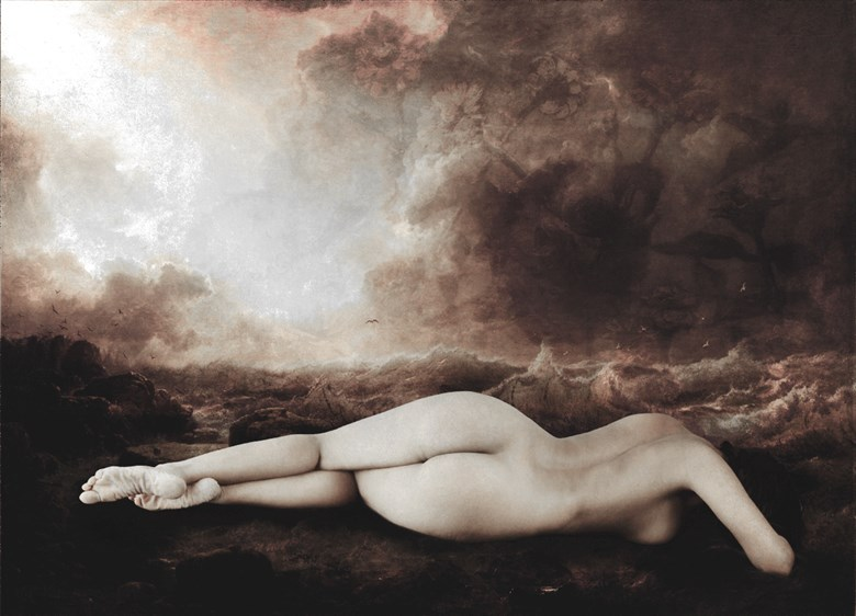 A Vintage Painting Artistic Nude Photo by Photographer Neeraj Agnihotri