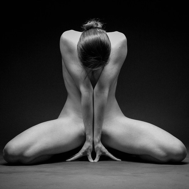 A Whisp of Hair Artistic Nude Photo by Photographer Richard Maxim