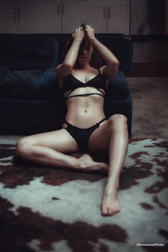 A beauty waking up with Brooke Eva Lingerie Photo by Photographer EmmanuelVivier