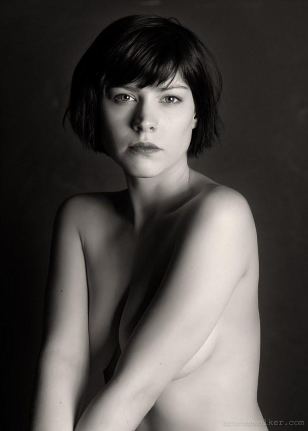 A portrait of Dorrie %231 Implied Nude Photo by Model Dorrie Mack