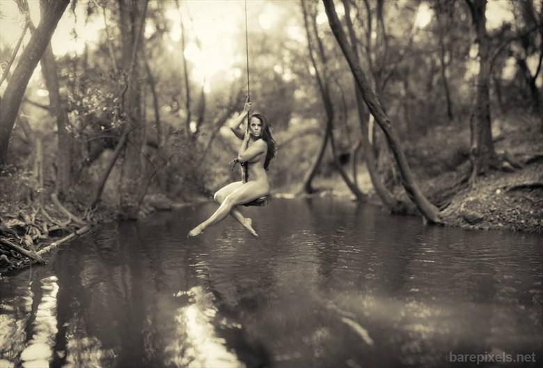 A push%3F Artistic Nude Photo by Model Ceara Blu