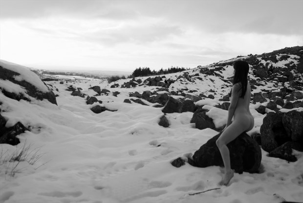 A snowy landscape Artistic Nude Photo by Photographer Light is Art