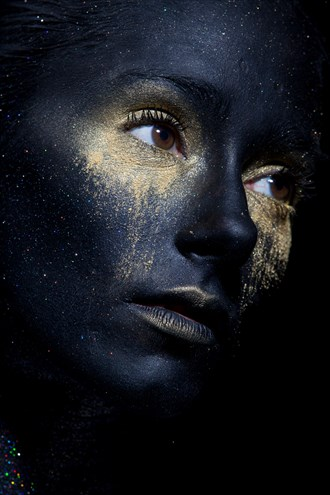A star in the sky Body Painting Photo by Photographer Georges Daguerre