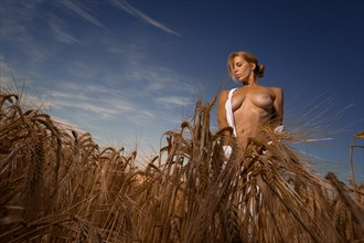 AKH in the field 3 Artistic Nude Photo by Photographer MelPettit