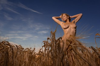 AKH in the field 4 Artistic Nude Photo by Photographer MelPettit