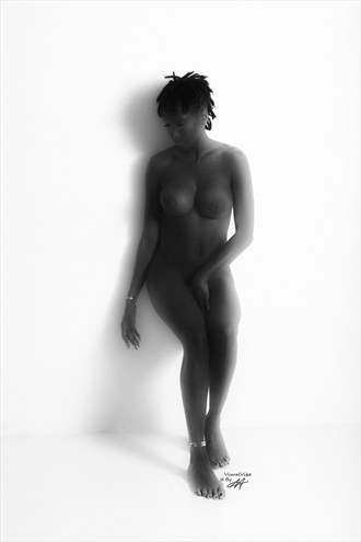 ALONE Artistic Nude Artwork by Photographer VisualVibe