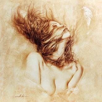 ANELITO Artistic Nude Artwork by Artist Girotto Walter