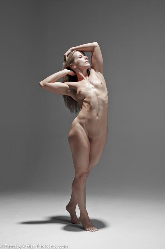 AP in a figure study set. Artistic Nude Photo by Photographer XenoPhoto