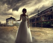 Abandonded Bride Sensual Artwork by Photographer gracefullywicked