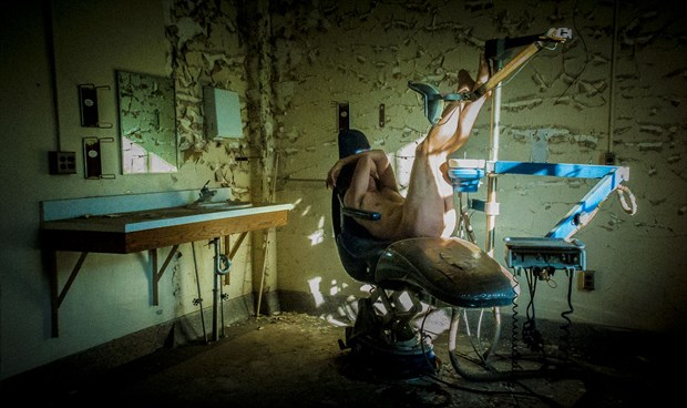 Abandoned Dentist  Artistic Nude Photo by Model Naked Freedom