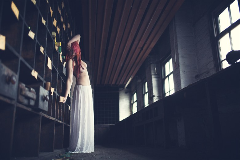 Abandoned workshop Artistic Nude Photo by Photographer Michael.