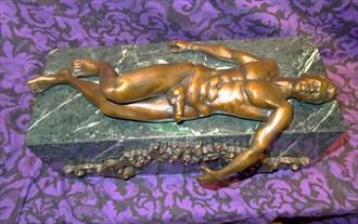 Abiding Peace Artistic Nude Artwork by Artist Robert Cottrell