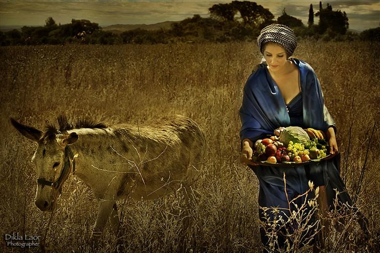 Abigail   Biblical Women Surreal Artwork by Photographer Dikla Laor