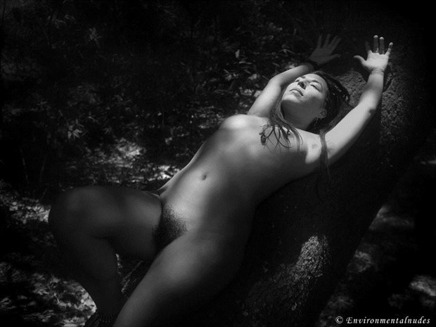 Absorbant B&W Artistic Nude Photo by Photographer Environmentalnudes