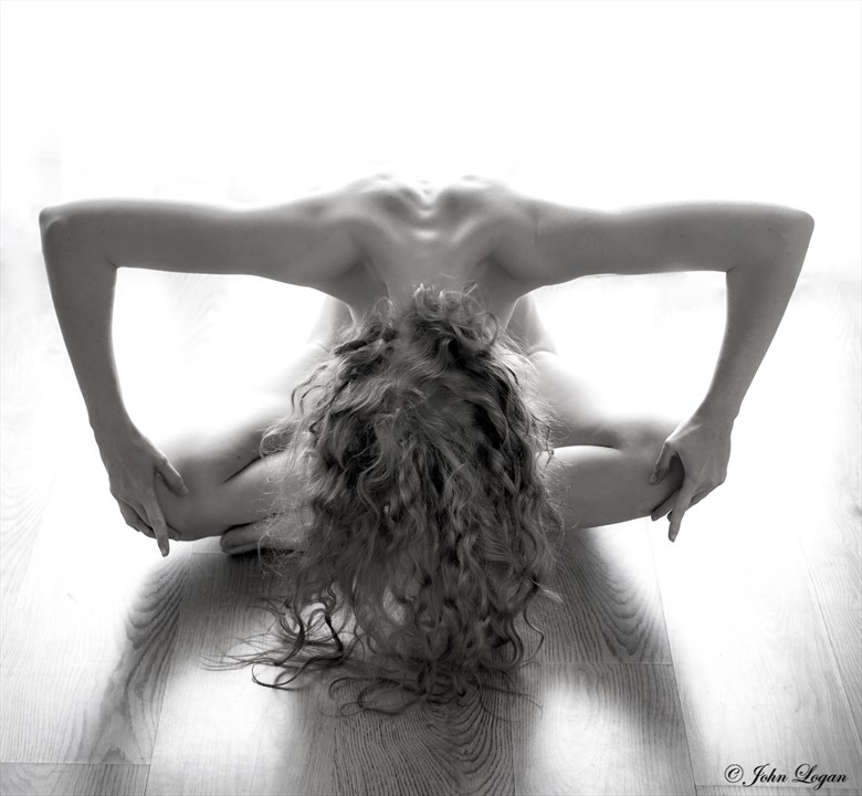 Abstaction Artistic Nude Photo by Photographer John Logan
