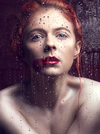 Abstract Experimental Photo by Model Alice Rage