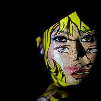 Abstract Expressive Portrait Photo by Photographer MarcHarrisMiller