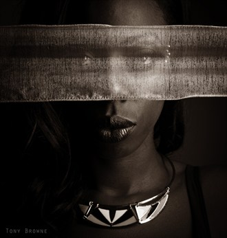 Abstract Expressive Portrait Photo by Photographer Tony Browne