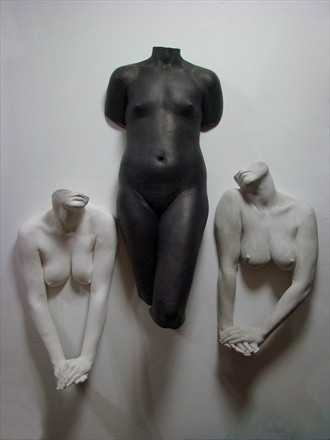 Abstract Figure Study Artwork by Artist KcBodycasting