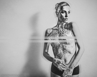 Abstract Implied Nude Photo by Model Jaylynn Mitchell