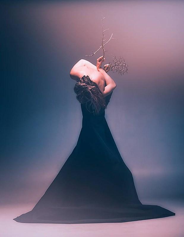 Abstract Photo by Model Angela Hamilton