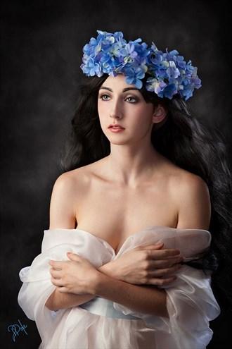 Abstract Sensual Artwork by Model Audrey Benoit
