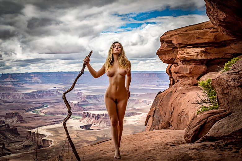 Adventure with April Alston McKay   Utah Artistic Nude Photo by Artist April Alston McKay