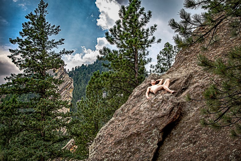 Adventure with April Artistic Nude Photo by Artist April Alston McKay