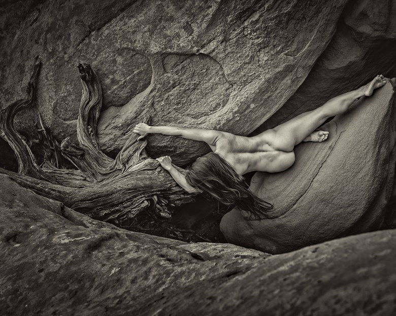 Adventure with April Artistic Nude Photo by Model April A McKay