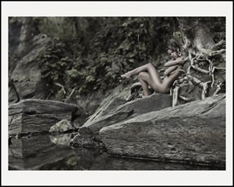 African Beauty Artistic Nude Photo by Artist LightBrushedImages