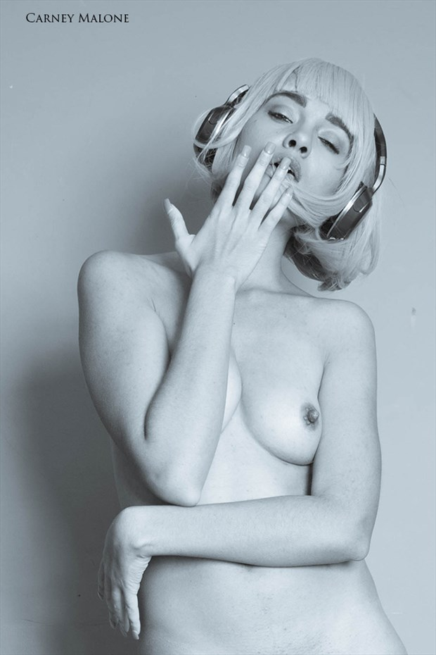 Again Music Artistic Nude Photo by Photographer Carney Malone