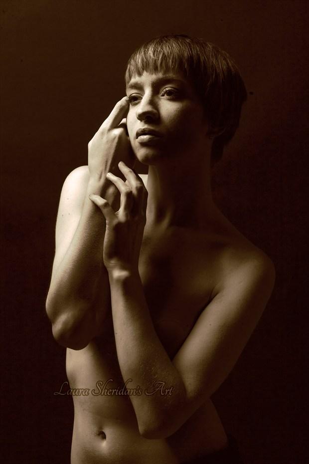 Agathe Artistic Nude Artwork by Photographer Laura Sheridan's Art