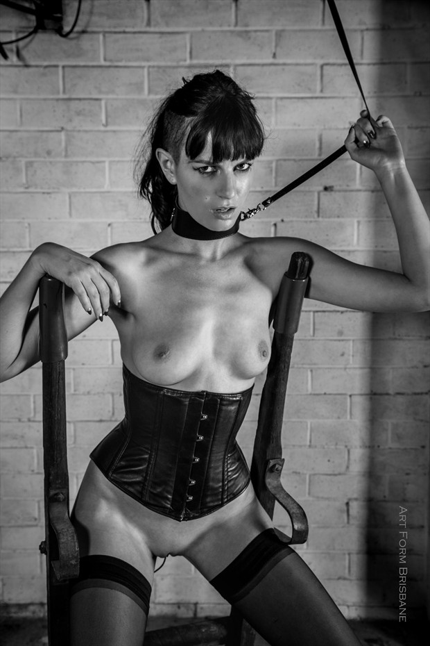 Aggression Fetish Photo by Model Ivy Rose Raven