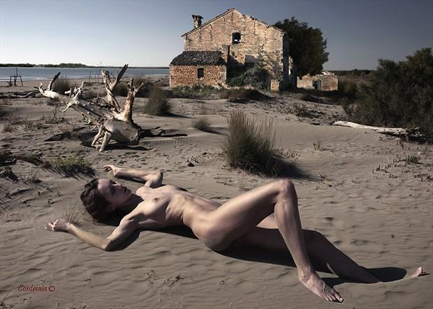 Al Mare 01 Artistic Nude Artwork by Artist Contesaia