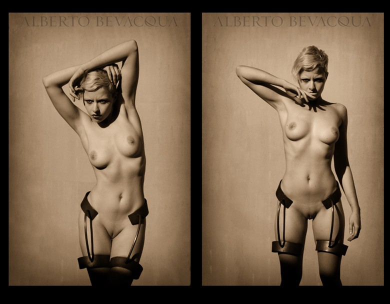 Alberto Bevacqua Artistic Nude Photo by Model Meluxine