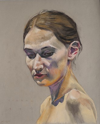 Alicja Artistic Nude Artwork by Artist Ciaran Taylor