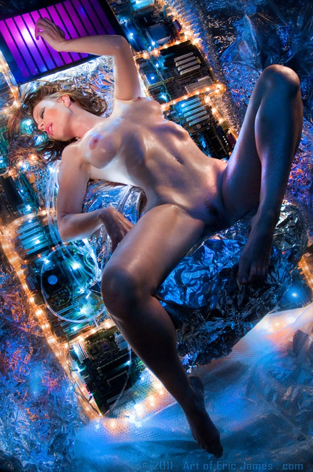 Alien Seduction  Artistic Nude Photo by Photographer ArtofEricJames.com